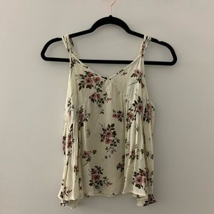 AE Floral Off Shoulder Blouse